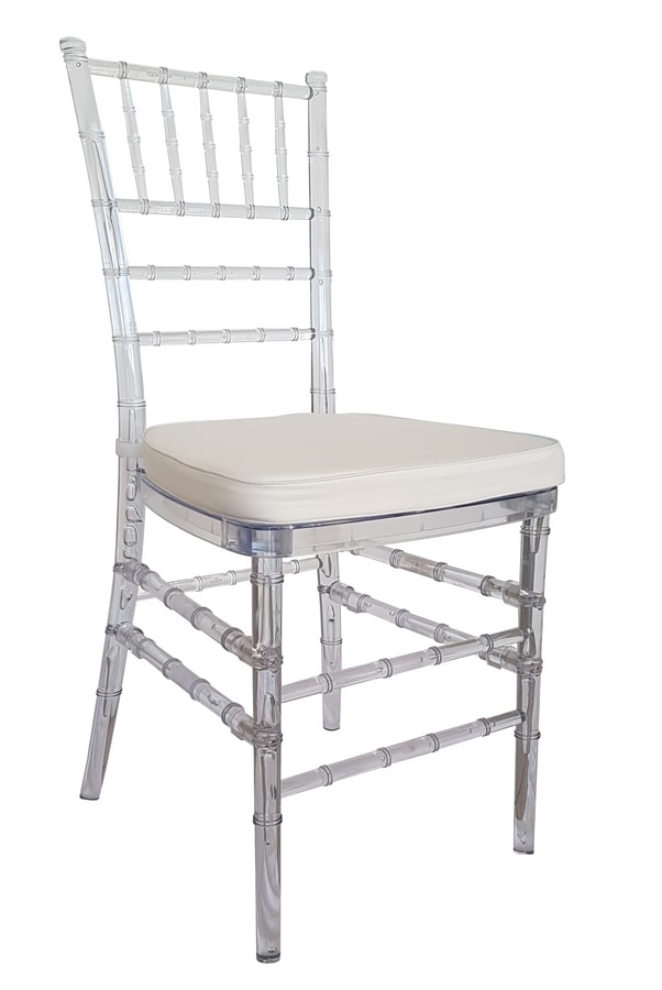 Chiavari, Sedie in policarbonato per cerimonie e banchetti
