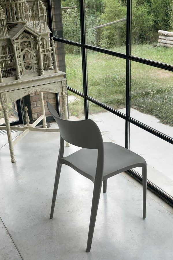 Sedie In Polipropilene Colorate.Sedia In Polipropilene Idfdesign