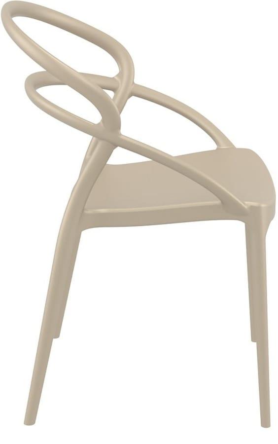 Produzione Sedie In Plastica.Sedia Design In Plastica Per Bar E Ristoranti Idfdesign