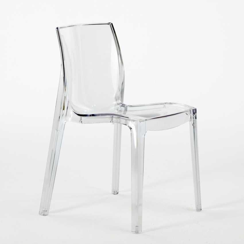Sedia ignifuga realizzata in plastica prima scelta impilabile idfdesign - Sedie plastica design ...