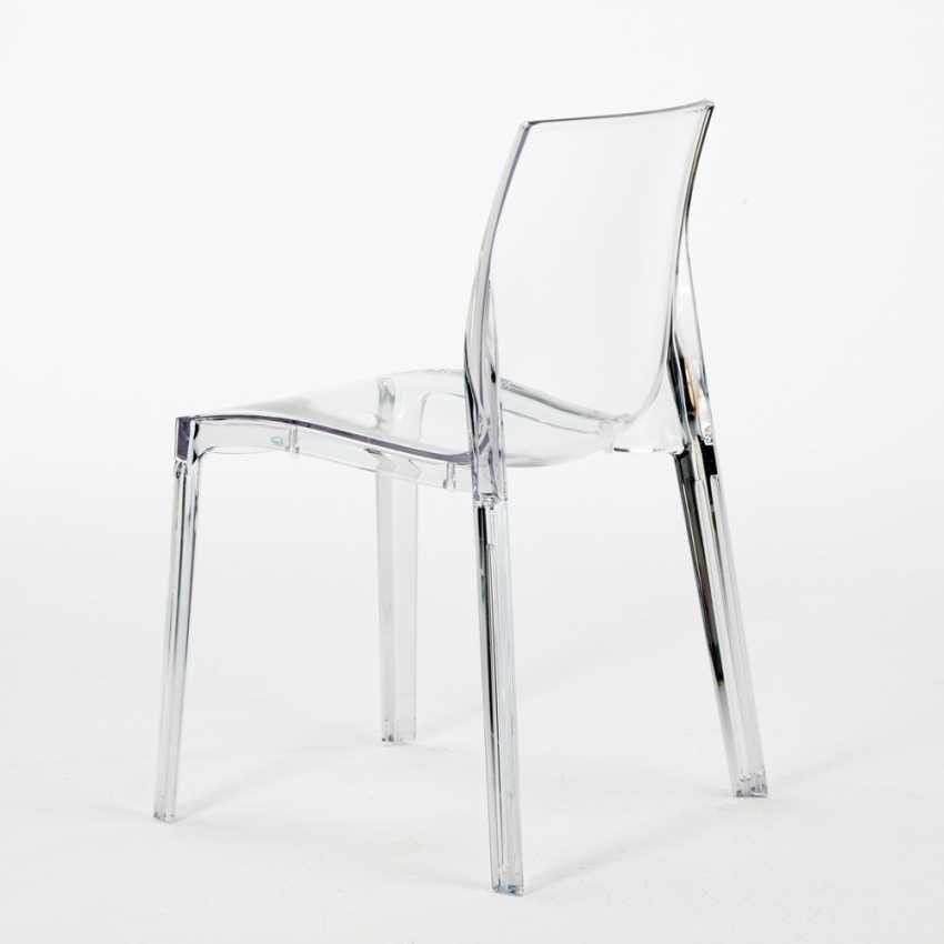 Sedia ignifuga, realizzata in plastica prima scelta, impilabile  IDFdesign