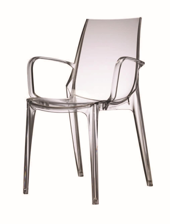 Piedini Plastica Per Sedie.Sedia In Policarbonato Con Piedini Antiscivolo Idfdesign