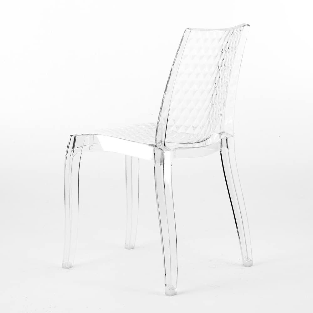 Stunning sedia interno design trasparente hypnotic s sedia in trasparente per esterni with sedie - Sedie di design famosi ...