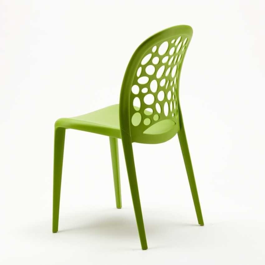 Sedia colorata in polipropilene per giardino | IDFdesign