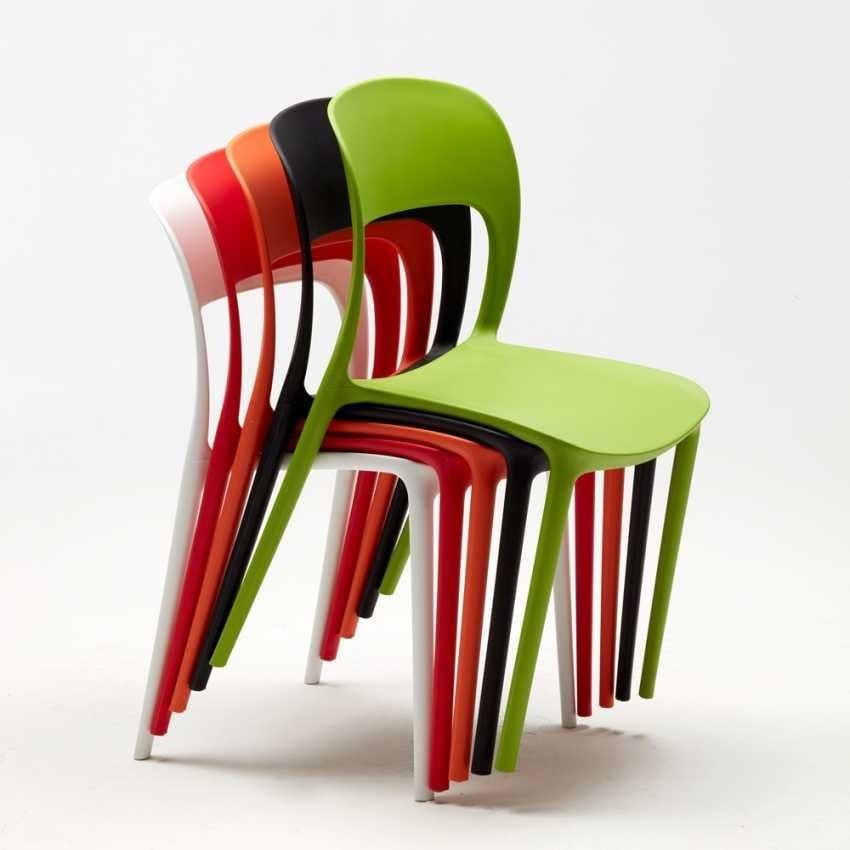 Sedia cucina in polipropilene colorato | IDFdesign