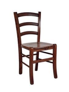 Immagine di 207 massello, sedia schienale legno
