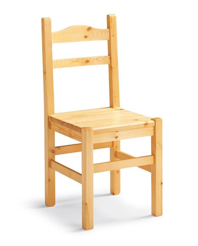 Sedia rustica in legno seduta in paglia intrecciata idfdesign - Sedie in legno design ...