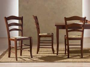 Immagine di MONTANARA 41 B, sedia legno verniciata