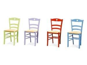 Immagine di PETIT COEUR 43 P, sedia provenzale