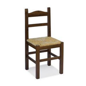 Immagine di S/109 P anita paglia, sedie campagnole