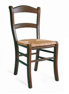 Savoia, Sedia rustica con seduta paglia