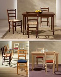 Immagine di VENEZIA 42 A, sedia legno semplice