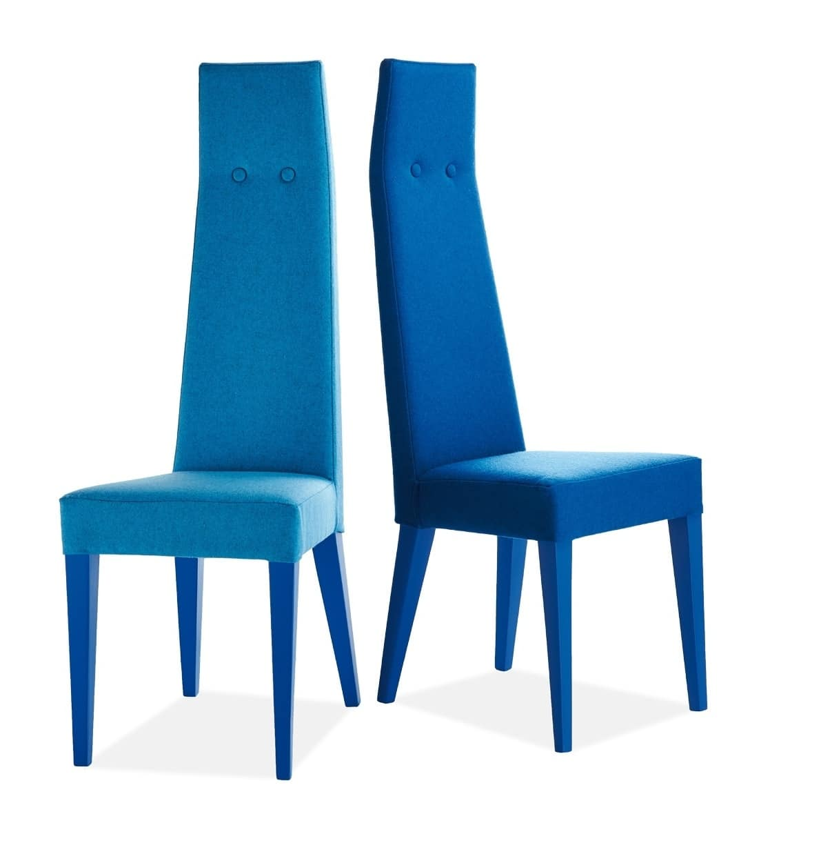 Sedia imbottita con schienale alto | IDFdesign