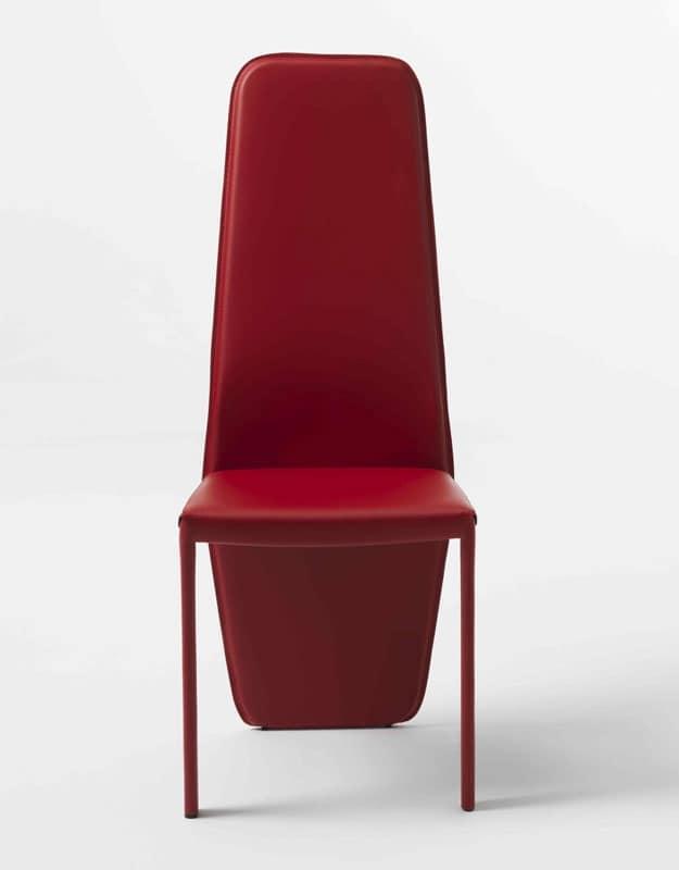 Sedia con schienale alto, per Sala ristorante | IDFdesign