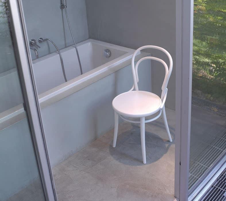 Sedia con schienale in legno curvo per ristorante idfdesign for Sedie design 900