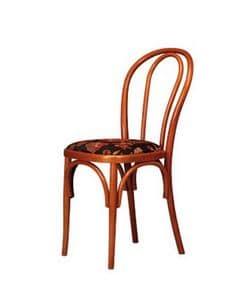 103, Sedia in legno di faggio curvato, per ristoranti