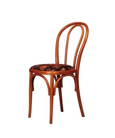 Sedie A Legno Curvo E Impagliate.Sedia In Legno Di Faggio Curvato Per Ristoranti Idfdesign