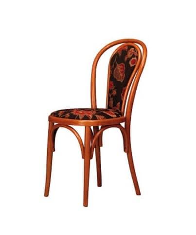 Sedia in faggio curvo imbottita per bar e casa idfdesign for Sedie design 900