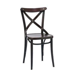150 sedia, Sedia con decoro vecchio stile, per Ristorante