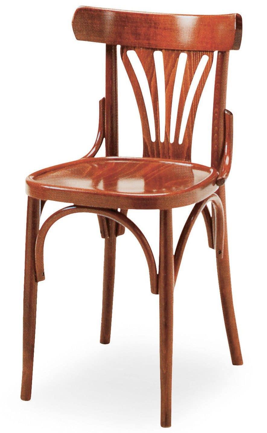 B06 sedia in legno curvato per bar idfdesign for Sedie di design in legno