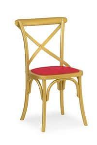 Ciao Imb, Sedia in legno massello, in vari colori