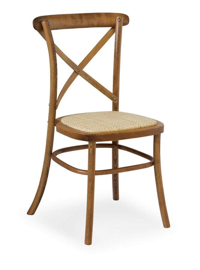 Sedia impilabile in legno massello idfdesign for Sedie design foto