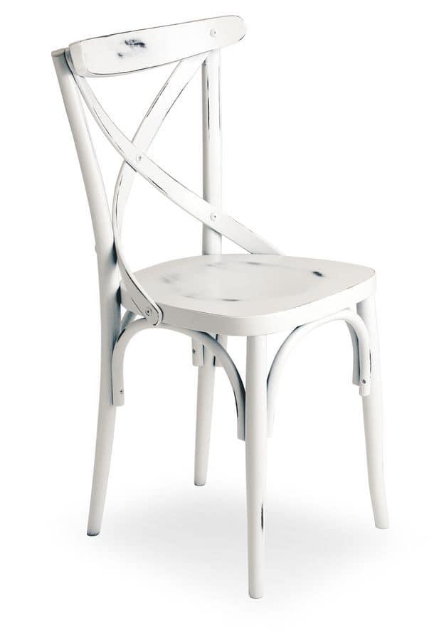 Sedia in legno di faggio vari rivestimenti idfdesign for Sedie design 900