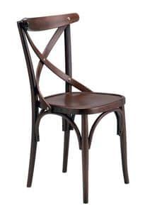 Golia, Sedia in legno di faggio curvato per enoteche e bar