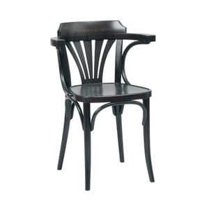 Katrin sedie, Sedia in legno curvo, per pub, bar, birrerie