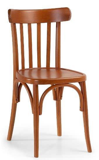 Sedia in legno curvato per uso contract e collettivit for Sedie design 900
