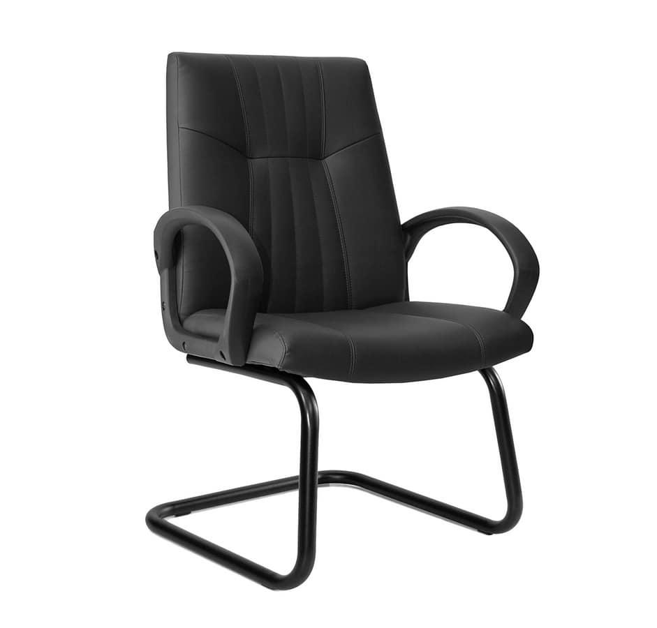 Sedia con braccioli, per clienti ufficio | IDFdesign