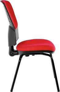 Fantail 4 gambe, Comoda sedia per gli ospiti dell'ufficio