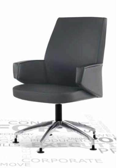 Grey-V, Poltrona per visitatore ufficio