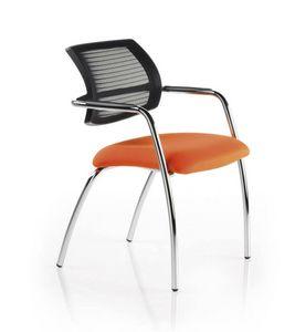 Horizon 560R, Sedia visitatore ufficio con schienale in rete
