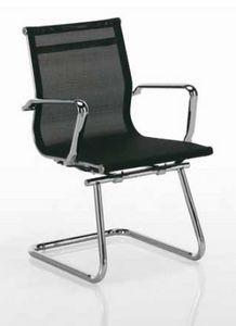 Tralis-V, Sedia da ufficio, per clienti, in rete