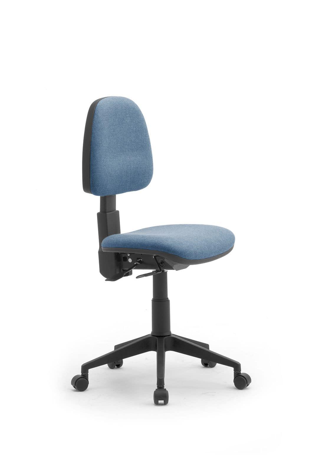 Sedia per ufficio con ruote idfdesign for Sedie ufficio