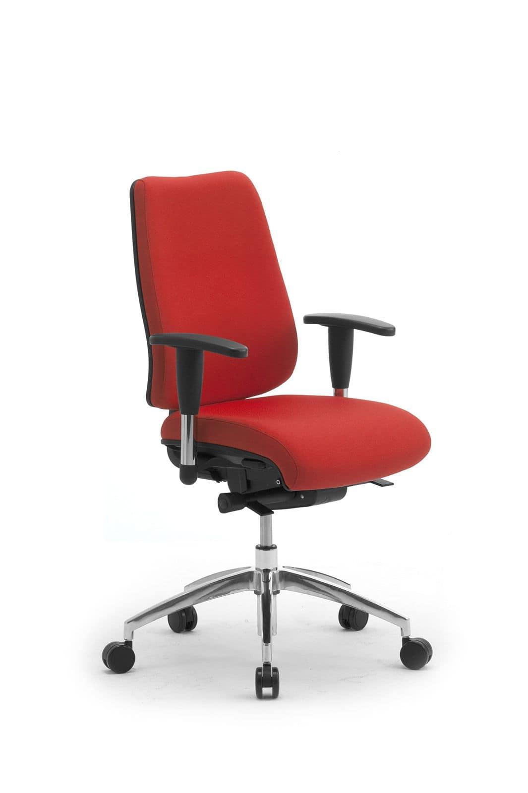 Sedia operativa da ufficio seduta e schienale imbottiti for Sedia da ufficio amazon