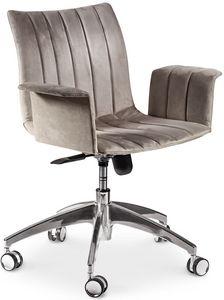 Ginevra sedia ufficio, Sedia girevole da ufficio, con seduta ergonomica