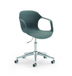 Jim 853 G0, Sedia home office con scocca in pvc