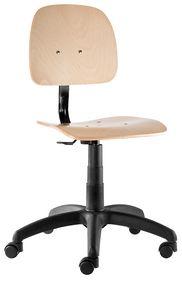 Labor W sedia fissa, Sedia su ruote, regolabile in altezza