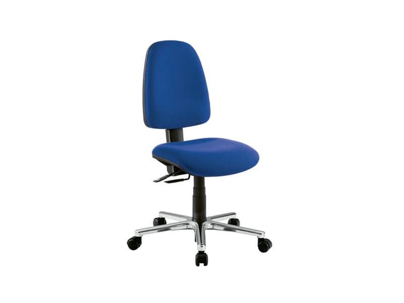 Sedia operativa per ufficio con schienale alto idfdesign for Amazon sedie ufficio