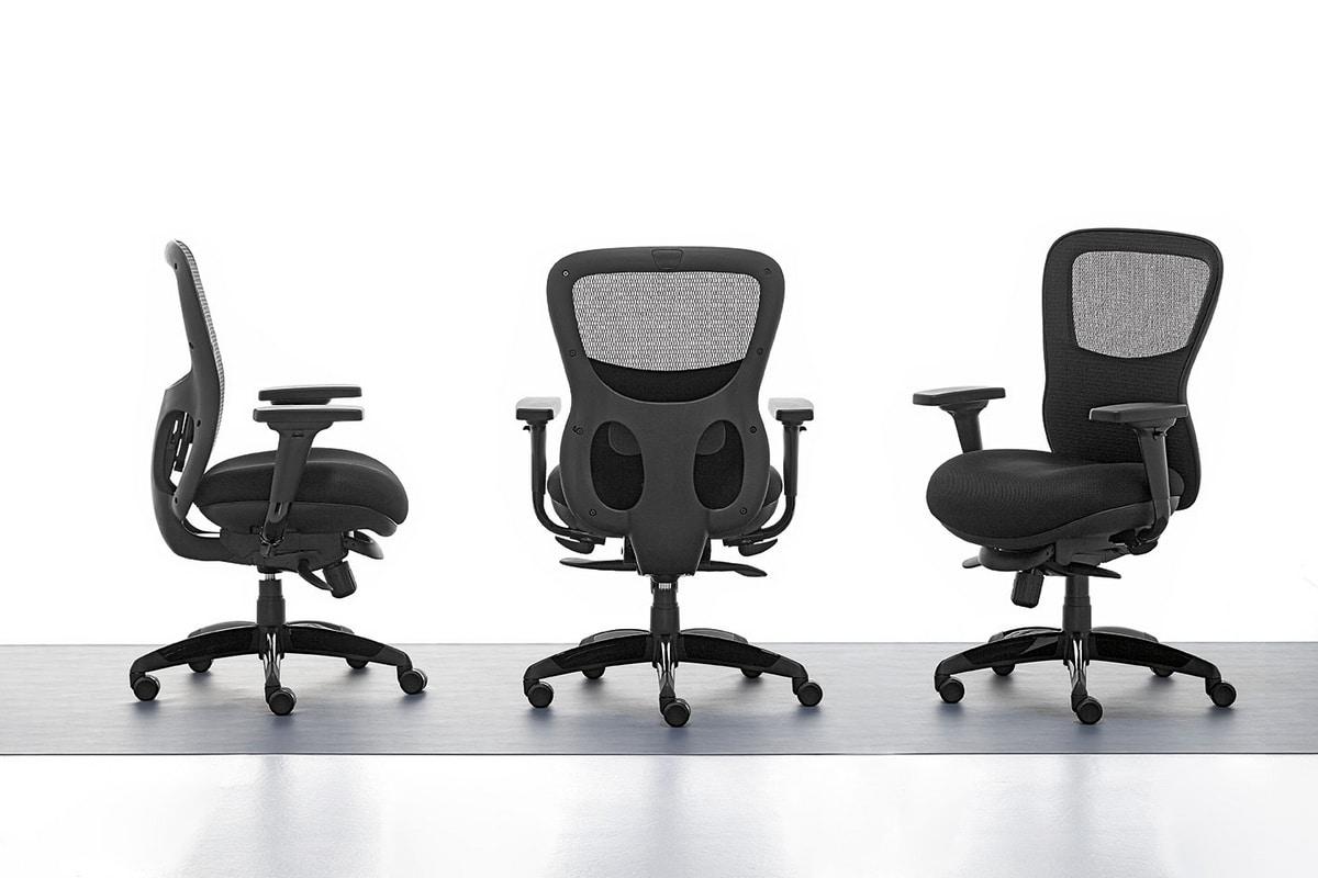 Athos 01, Sedia direzionale per ufficio, interno sedile in multistrato