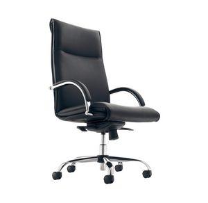 Croma H 583, Prestigiosa sedia in pelle per ufficio