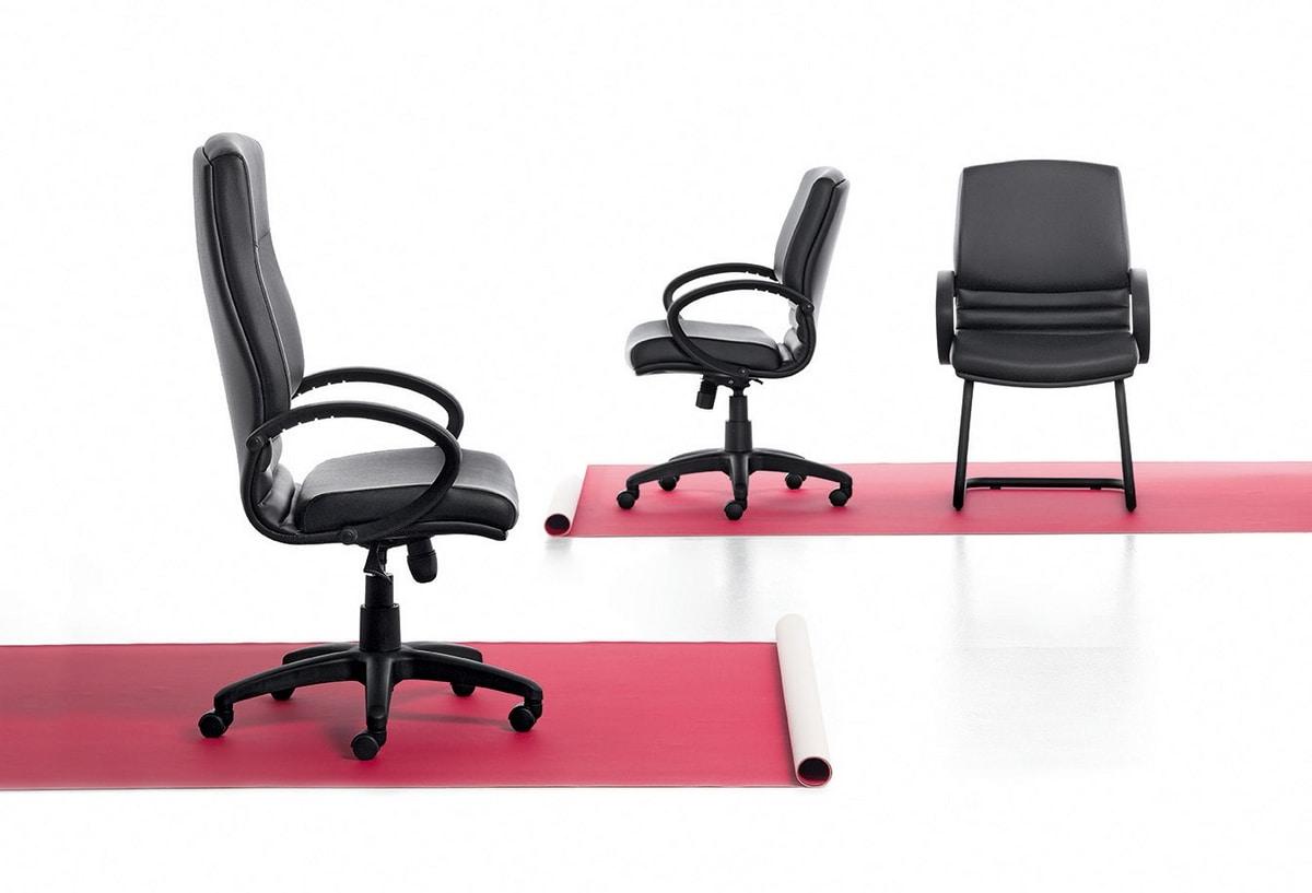 Digital 01, Sedia direzionale, meccanismo oscillante, per ufficio