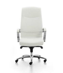 Digital CR 01, Sedia direzionale imbottita con schienale alto per ufficio