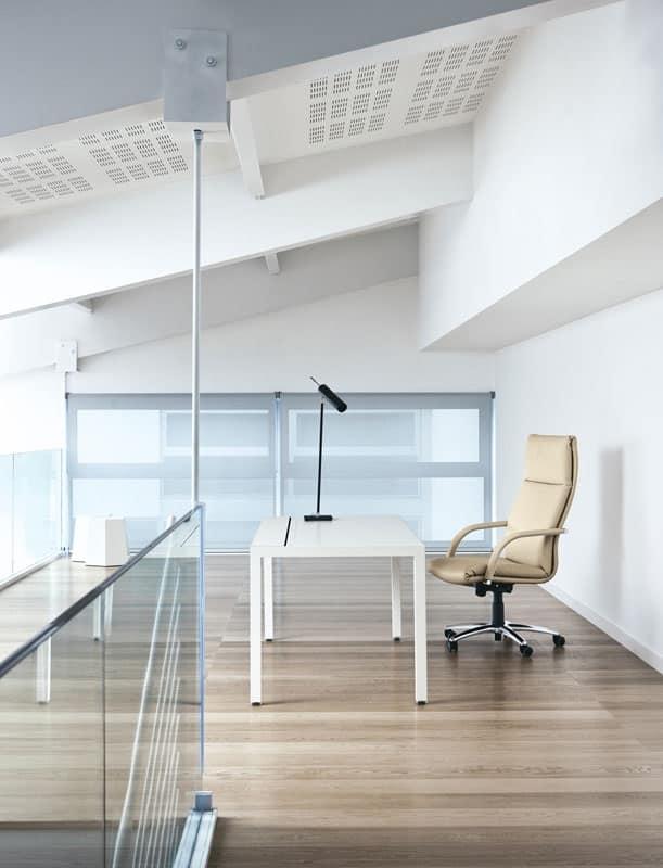 Klassic, Poltrona per ufficio dirigente, altezza regolabile