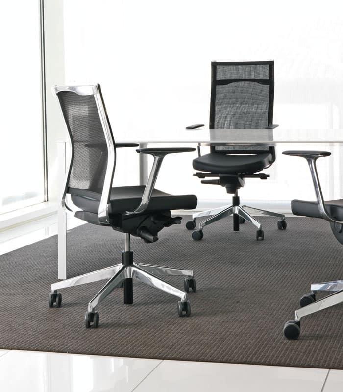 Sedia schienale alto, per Studi professionali  IDFdesign