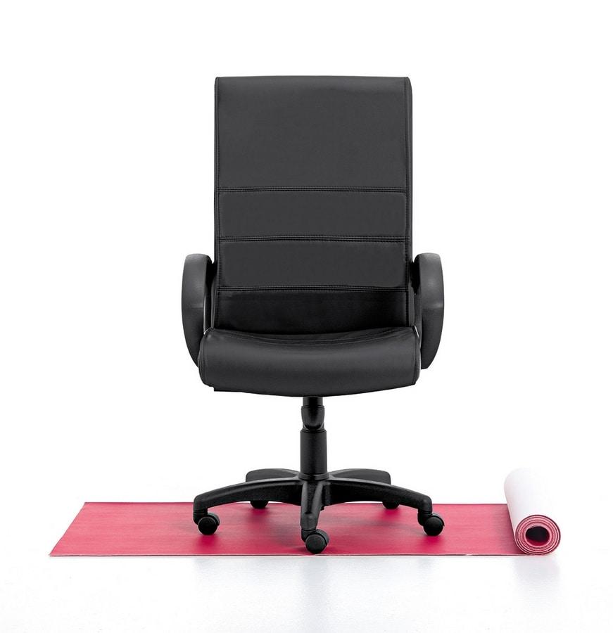 Sedia direzionale alta alzata a gas meccanismo for Amazon sedie ufficio