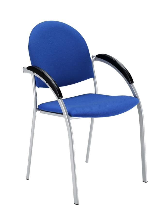 Beba, Sedia in metallo imbottita per conferenze e riunioni