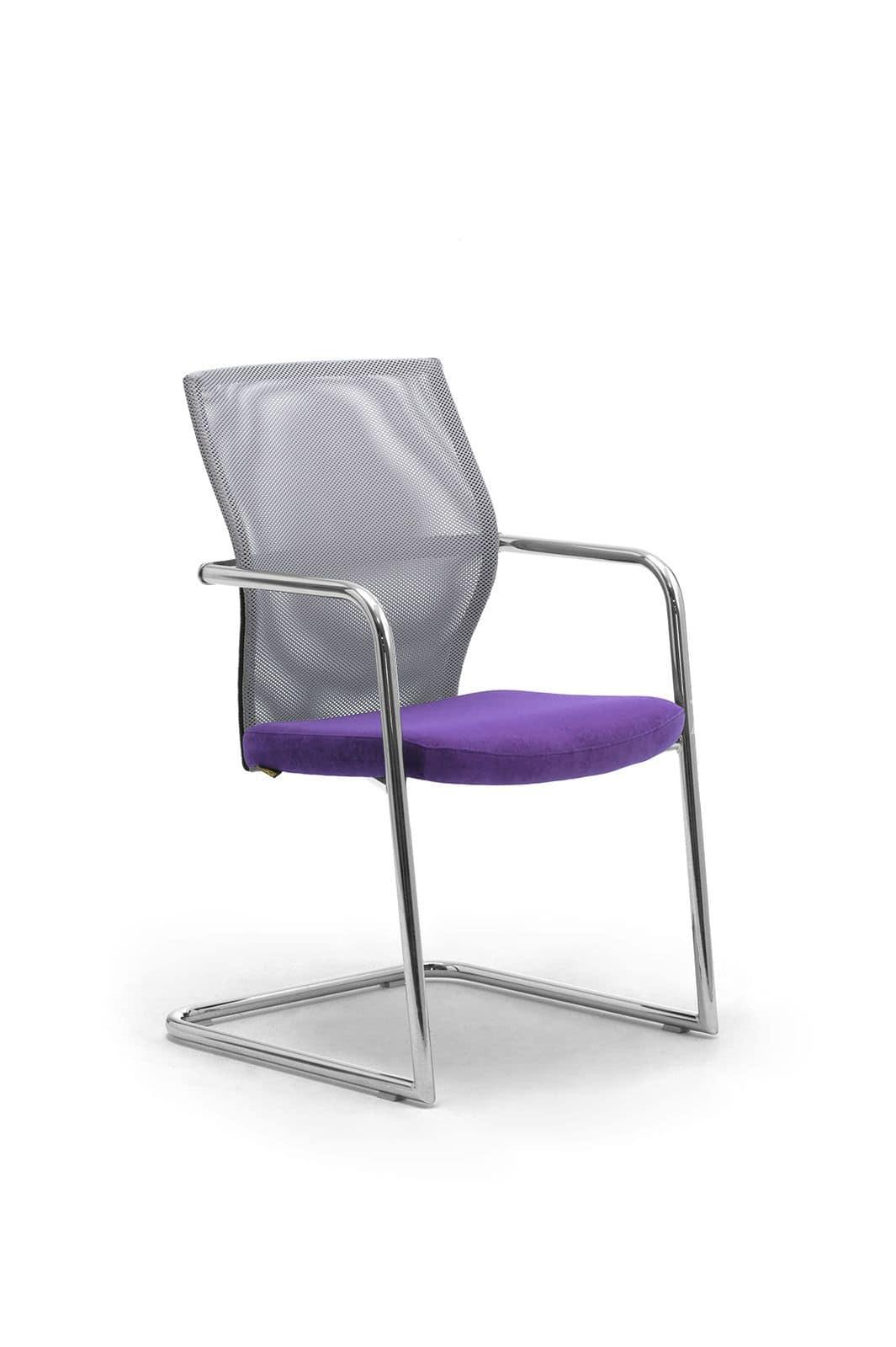 Ego Lux visitatore 53450, Sedia per ufficio con schienale in rete